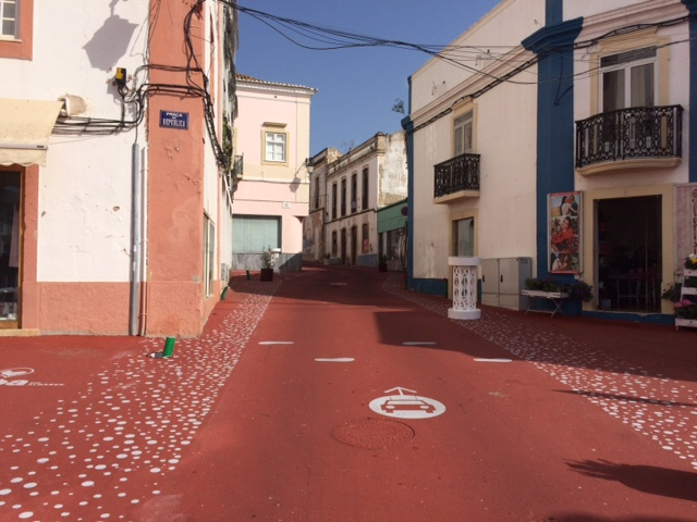 Regeneration of the street Coronel Figueiredo