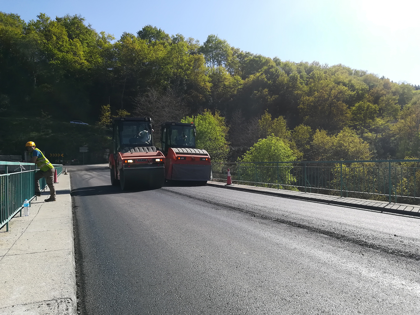 Cavez Bridge Paving