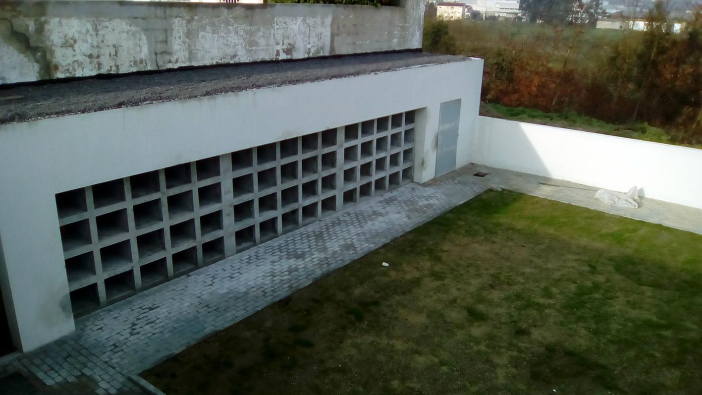 Ampliação do cemitério de Ponte