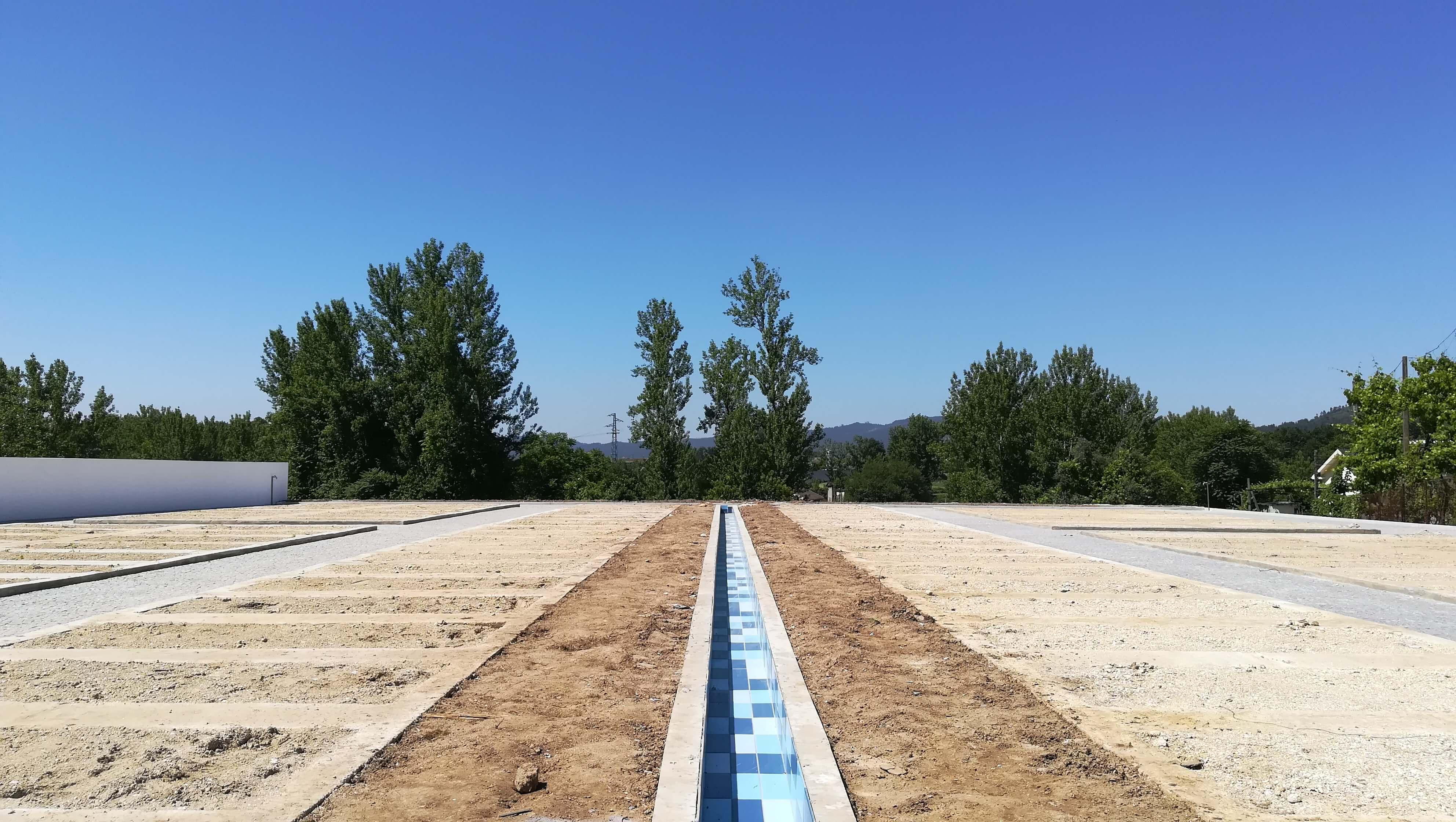 Novo cemitério de St. Estevão de Briteiros